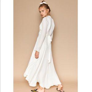 NWT! Stone Cold Fox Nico Gown white sz. 2